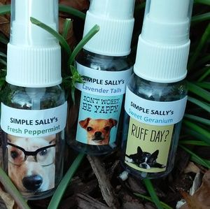 Dog scented sprays